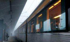 Greve suspende quase dois terços dos comboios programados até às 12:00