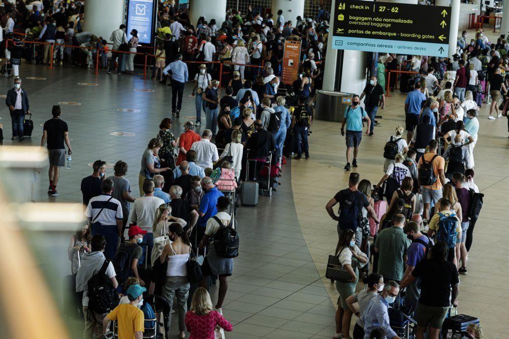 Covid-19: Cerca de 10 mil britânicos deixaram Faro no sábado