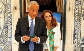 Estreia de programa de Filomena Cautela contou com presença de Marcelo