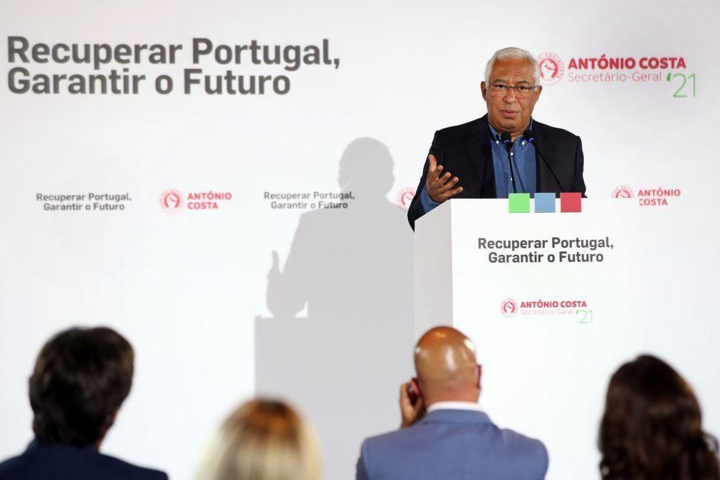 António Costa defende que Portugal não pode estar dependente de um só mercado turístico
