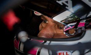 Tiago Monteiro no pódio dos TCR nas encurtadas 24 Horas de Nurburgring
