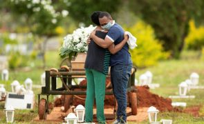 Covid-19: Brasil regista 39.637 novos casos e mais 873 mortes