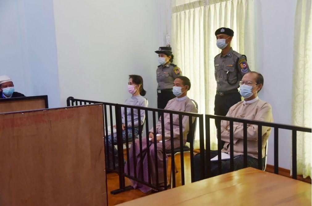 Myanmar: Julgamento de Aung San Suu Kyi agendado para o dia 14 de junho