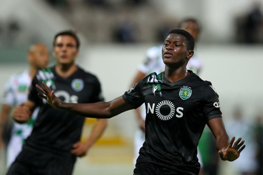 Nuno Mendes eleito melhor defesa esquerdo da I Liga de futebol 2020/21