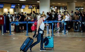 Covid-19: Aeroporto de Faro com menor afluência na véspera da saída da 'lista verde' britânica