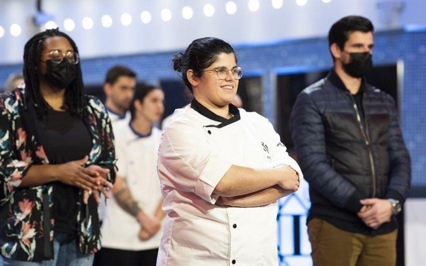 A reação de Francisca Dias à vitória do Hell's Kitchen