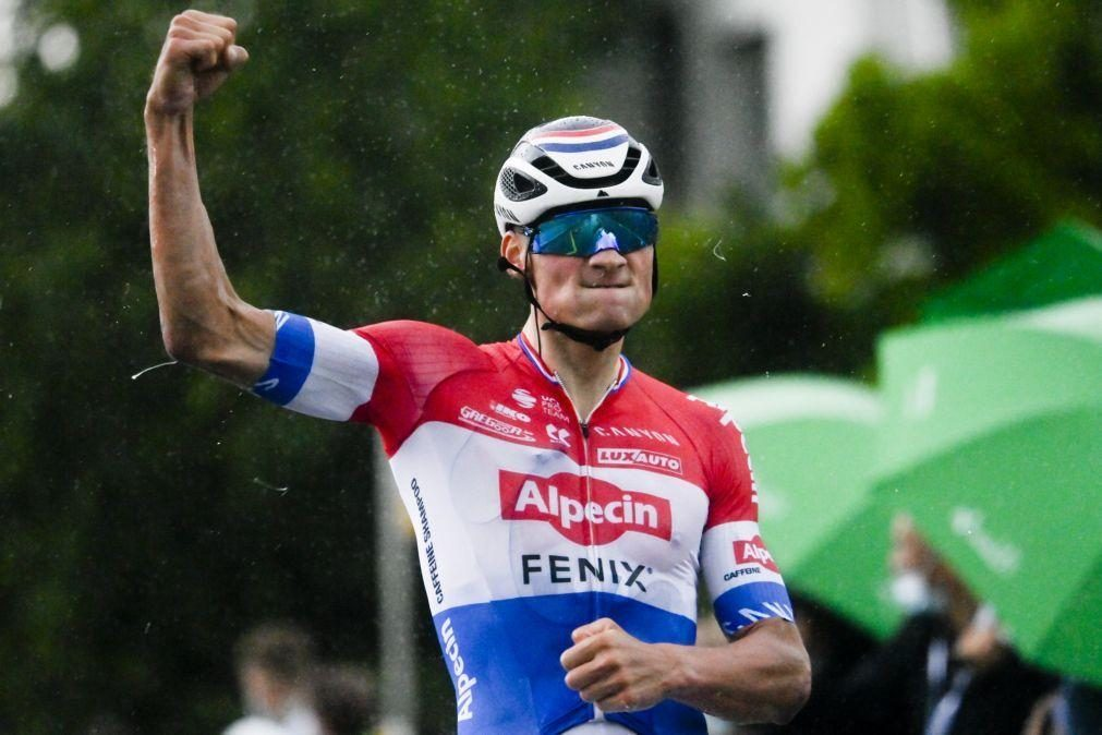 Mathieu van der Poel vence segunda etapa da Volta à Suíça, Küng segue líder