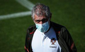 Euro2020: Fernando Santos teve todos à disposição pela primeira vez