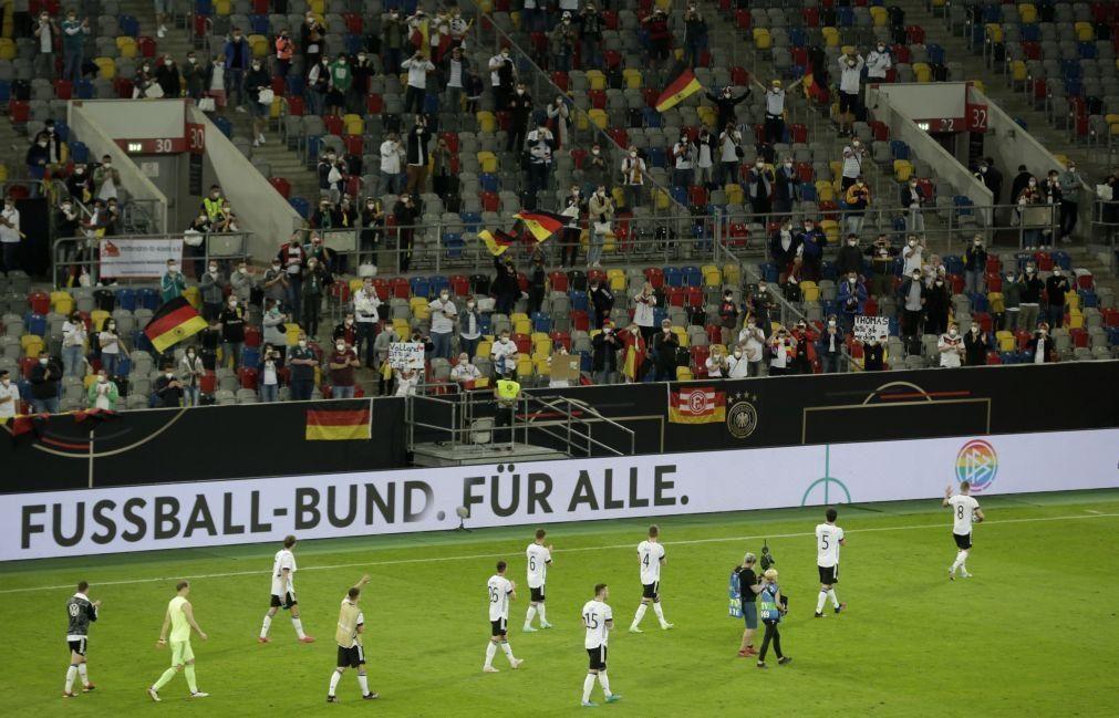 Euro2020: Alemanha, adversário de Portugal no Grupo F, goleia Letónia por 7-1