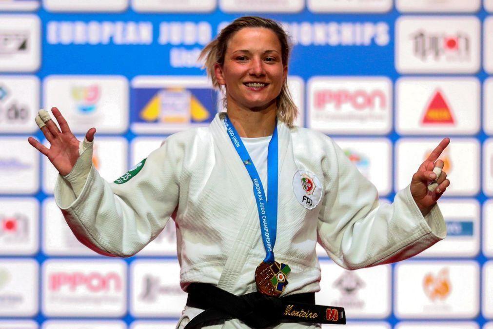 Judo/Mundiais: Telma Monteiro entra no 'tatami' ao terceiro dia de competição