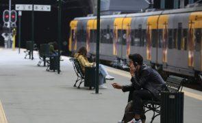 CP realizou 130 ligações ferroviárias das 252 programadas até às 08:00 devido à greve