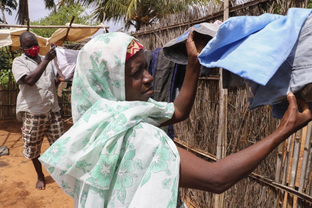 Moçambique/Ataques: Cruz Vermelha questiona listas de beneficiários em bairros de Pemba