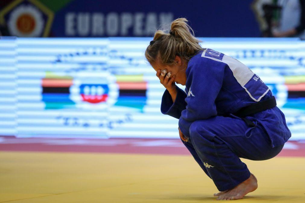 Judo/Mundiais: Telma Monteiro perde na repescagem e termina em sétimo lugar