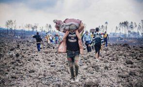 Milhares de pessoas regressam a Goma depois da erupção do Nyiragongo na RDCongo