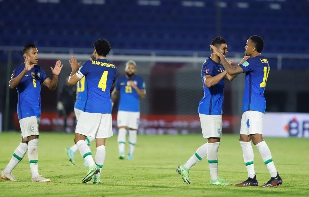 Seleção brasileira declara-se