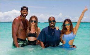 Khloé Kardashian Deixa mensagem especial a Kanye West: