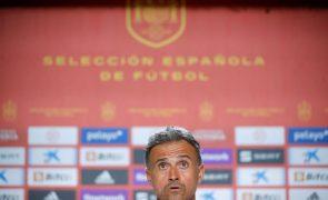 Euro2020: Espanha chama mais 11 jogadores para treinarem à parte