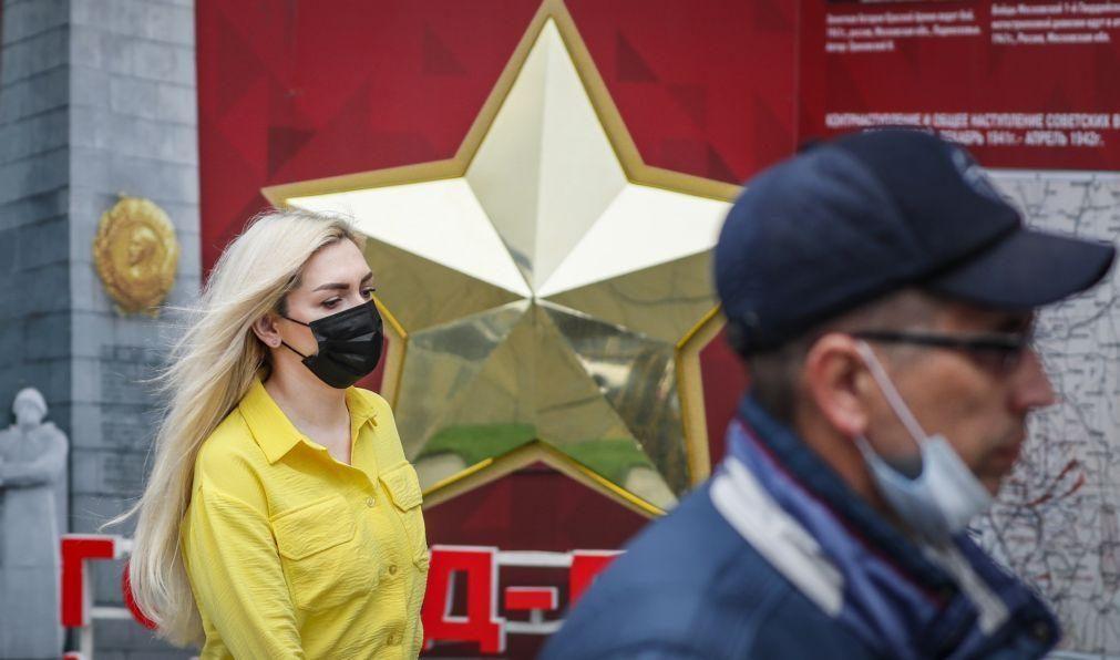 Covid-19: Rússia supera números de março ao registar 10.407 casos positivos
