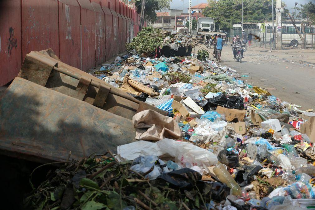 Governo de Luanda queixa-se de vandalismo e intimidação durante a recolha de lixo