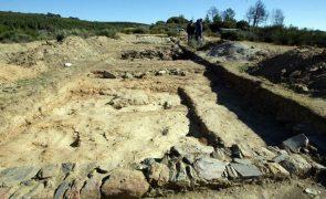 Trabalhos no Complexo Mineiro Romano de Tresminas põem galeria a descoberto