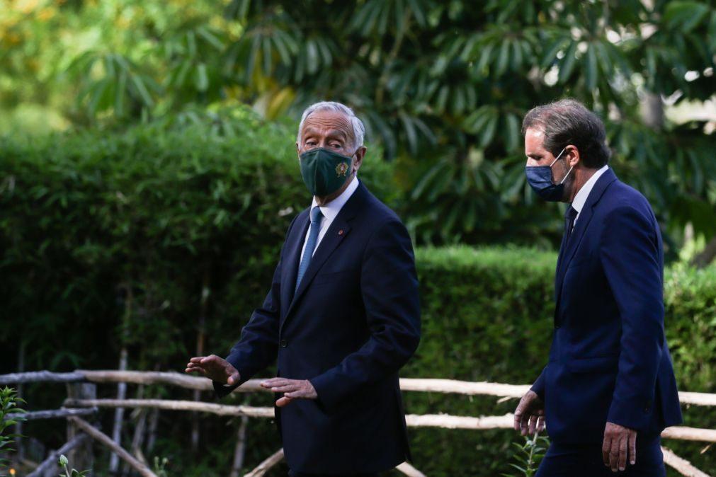 Marcelo discursa hoje na Madeira no Dia de Portugal pela segunda vez em pandemia