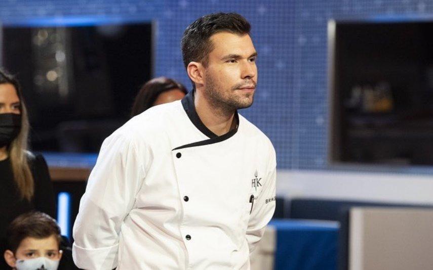 """Lucas sobre vitória de Francisca no Hell's Kitchen: """"Sou melhor do que ela"""""""
