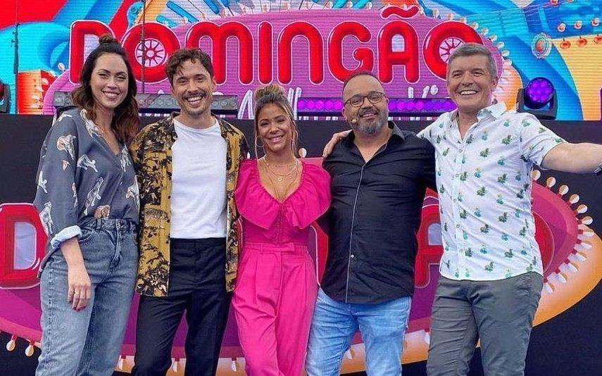 """Saiba quem vai substituir Débora Monteiro no """"Domingão"""" deste fim-de-semana"""