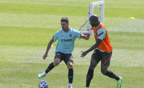 Euro2020: Portugal realiza primeiro treino em Budapeste