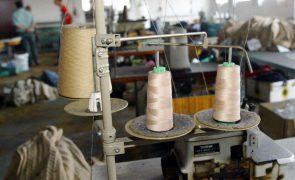 Exportações de têxteis e vestuário superam em 5,3% em abril o valor mensal pré-crise