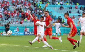 Suíça e País de Gales empatam e deixam Itália na frente do grupo A do Euro2020