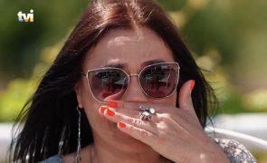 """Em lágrimas, Rosinha recorda morte do pai: """"Tinha buracos enormes da cintura até aos pés"""""""