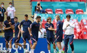 Euro2020: Inglaterra-Croácia em Wembley, estreante Macedónia e regresso dos Países Baixos