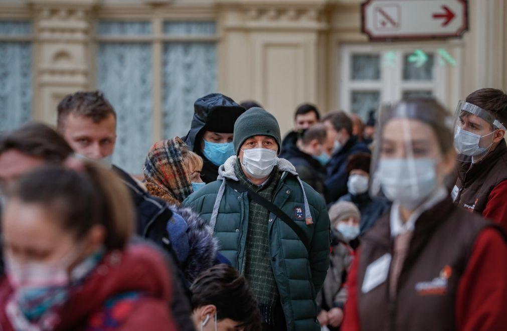 Covid-19: Rússia regista 14.723 novos casos nas últimas 24 horas