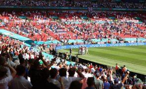 Inglaterra vence Croácia no arranque do grupo D do Euro2020 de futebol