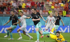 Euro2020: Áustria vence Macedónia do Norte