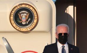 Presidente dos Estados Unidos chegou a Bruxelas para cimeiras com NATO e UE