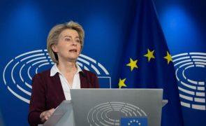 UE/Presidência: Cerificado covid-19 aprovado num recorde de 62 dias - Von der Leyen