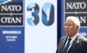 Ninguém duvida da posição de Portugal face à Rússia, diz Costa na NATO