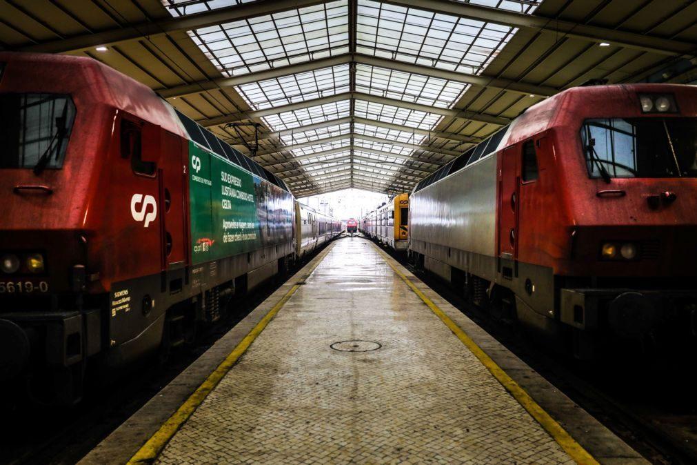 CP repõe lotação máxima em comboios apenas com lugares sentados a partir de hoje