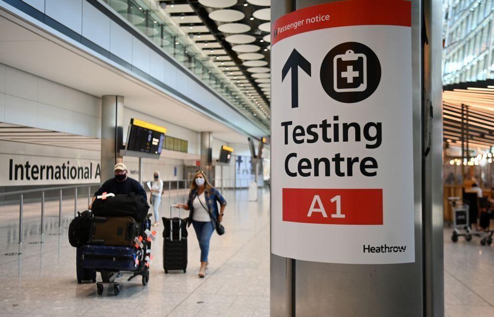 Covid-19: Número de casos continua a aumentar no Reino Unido