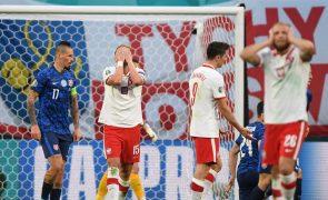 Euro2020: Polónia de Paulo Sousa derrotada na estreia pela Eslováquia