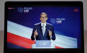 Polónia alvo de ciberataque