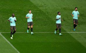 Euro2020: Portugal com Danilo e William no meio-campo face à Hungria