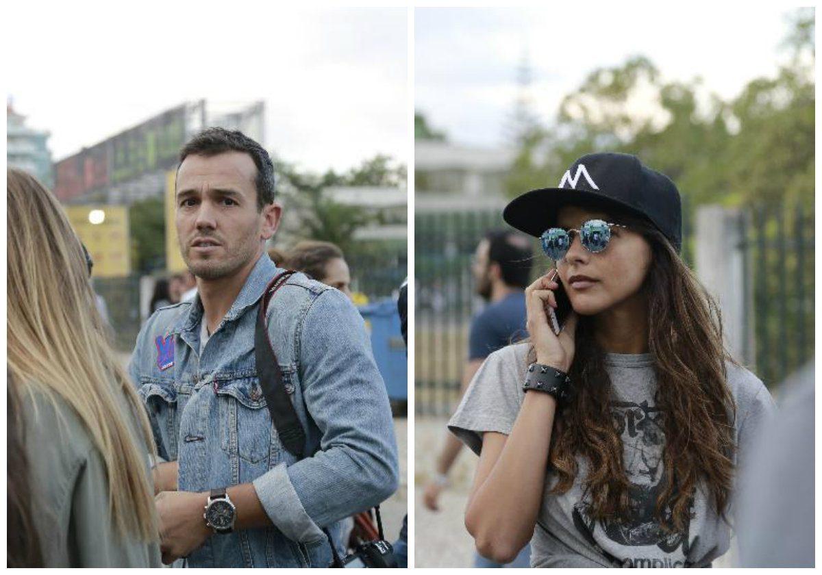 Pedro Teixeira e Sara Matos: o esconde-esconde no festival