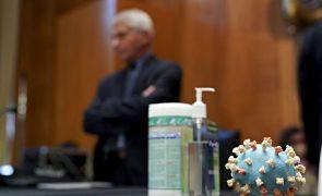Covid-19: EUA atingem 600 mil mortes e igualam número anual de óbitos por cancro