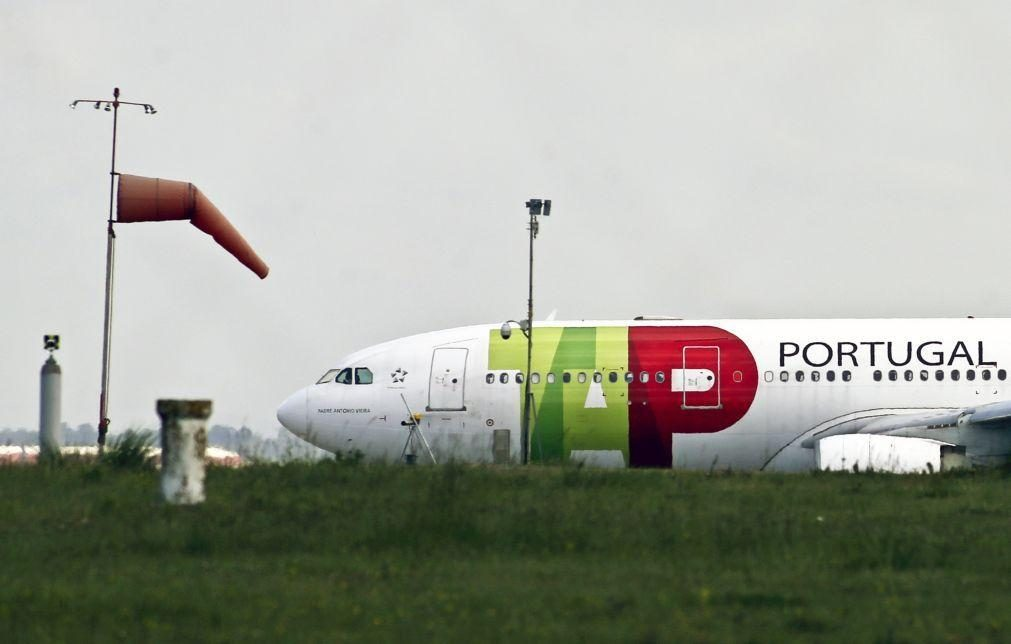 Avião da TAP atingido por ave no aeroporto da Praia pela segunda vez num mês