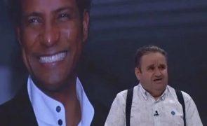 Fernando Mendes comove-se ao dedicar O Preço Certo a Neno