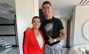 Dolores Aveiro partiu dentes e desmaiou quando Cristiano Ronaldo foi convocado para a Seleção