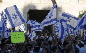 Desfile de milhares ultranacionalistas em Jerusalém termina sem incidentes graves