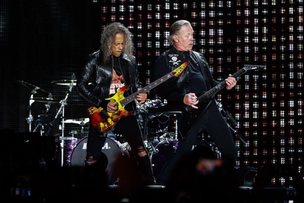 Metallica e Imagine Dragons confirmados para o festival Alive 2022